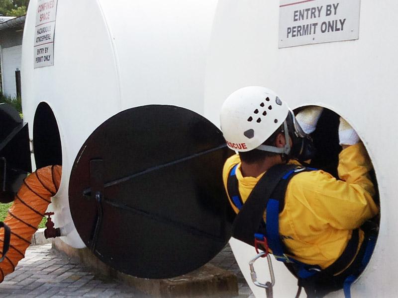 Confined Space Entry - Mid Level - Kementrian Tenaga Kerja RI